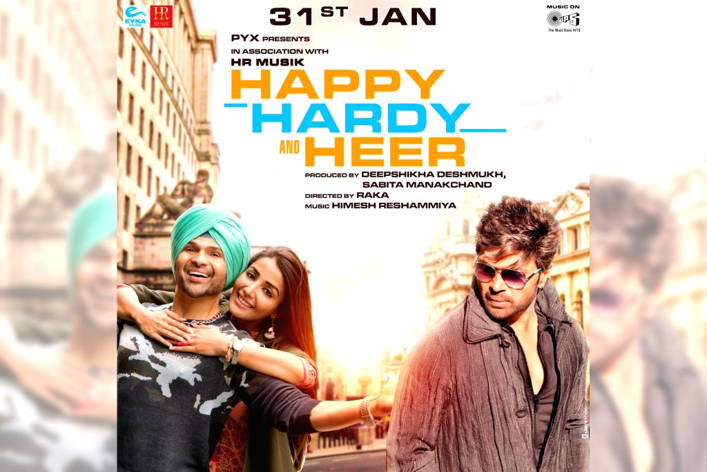"Singer-composer-actor Himesh Reshammiya's film ""Happy Hardy and Heer"", which was supposed to release on January 3, 2020, will now hit the screens on January 31 next year. - Himesh Reshammiy"