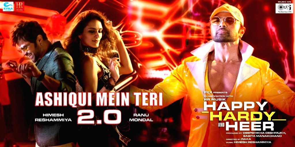 "Singer-composer Himesh Reshammiya is back with a new version of the 2006 hit song ""Ashiqui mein teri"". This time he is joined by the Internet singing sensation Ranu Mondal."