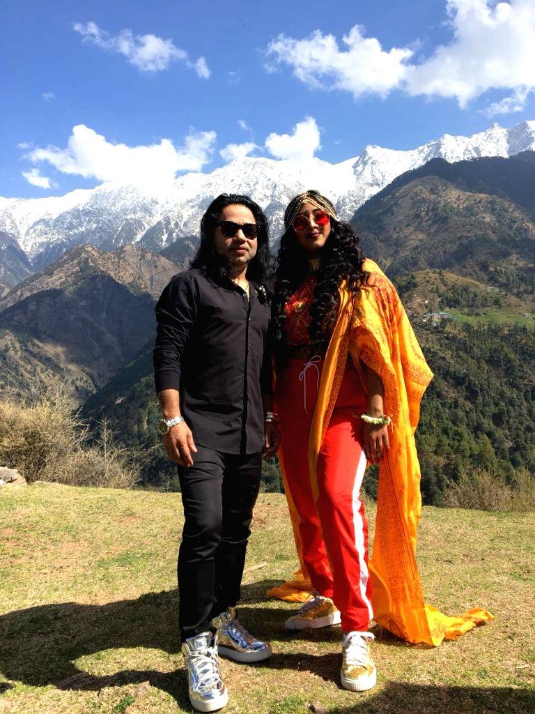 Singer-composer Kailash Kher, rapper Raja Kumari - Kailash Kher