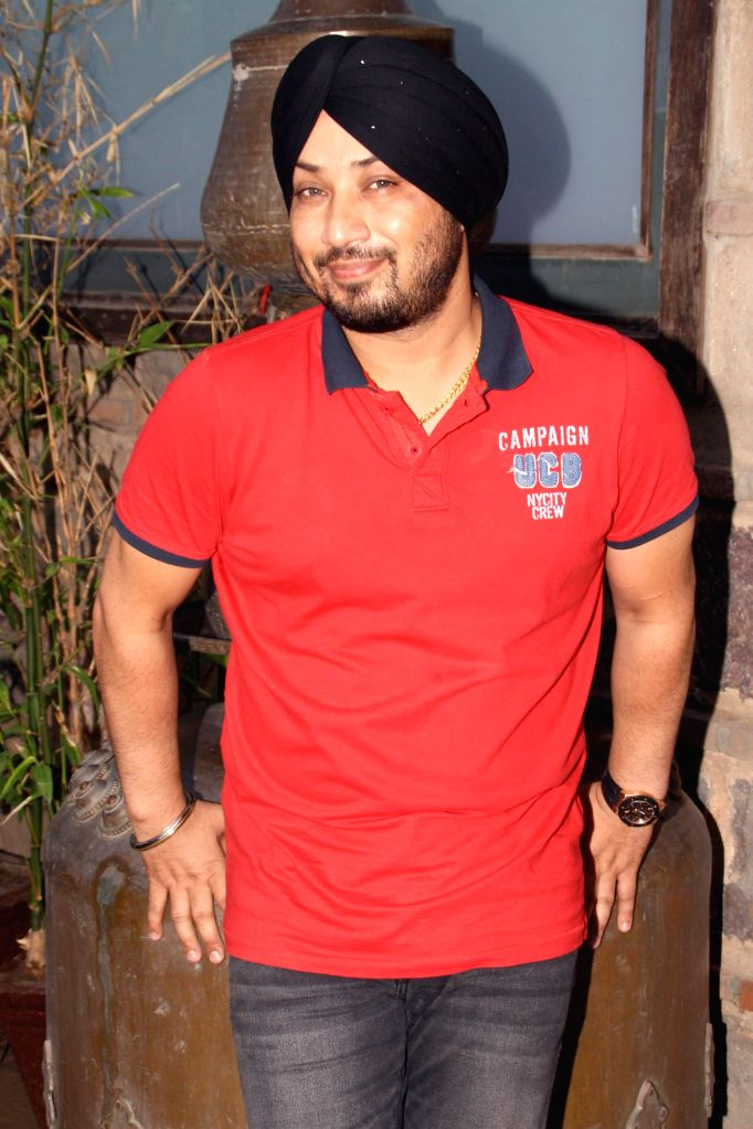 Singer Dilbagh Singh during a press conference in New Delhi on July 3, 2014. - Dilbagh Singh