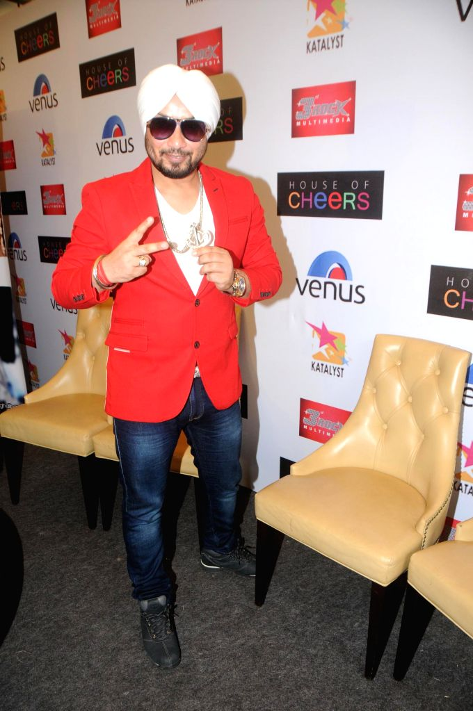 Singer Dilbagh Singh during the launch of his music album The Victorian Secrets in Mumbai on July 21, 2014. - Dilbagh Singh