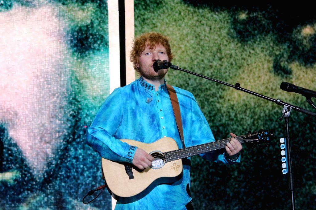 Singer Ed Sheeran. (Photo:IANS)