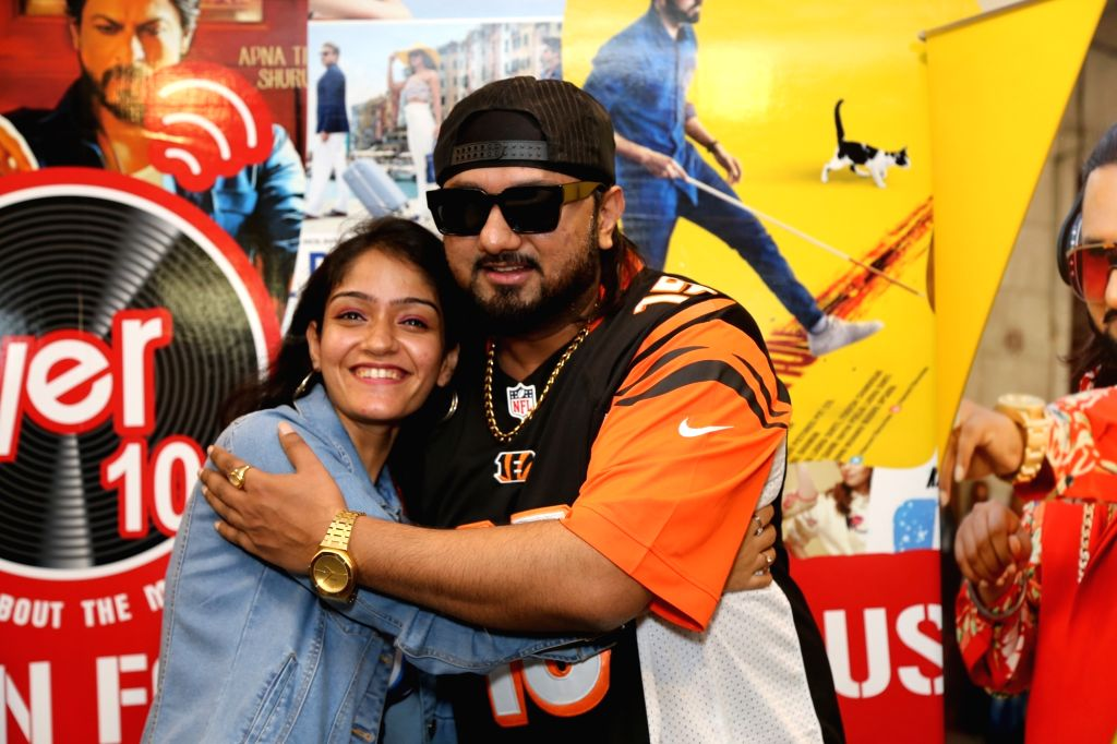 Singer Honey Singh during a fan meet and greet programme in New Delhi,on Sep 28,2019. - Honey Singh