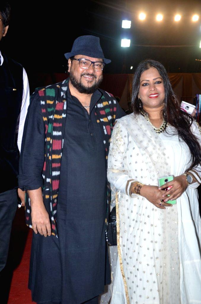 Singer Ismail Darbar during Bharat Ikon Award in Mumbai, on Nov 28, 2016.