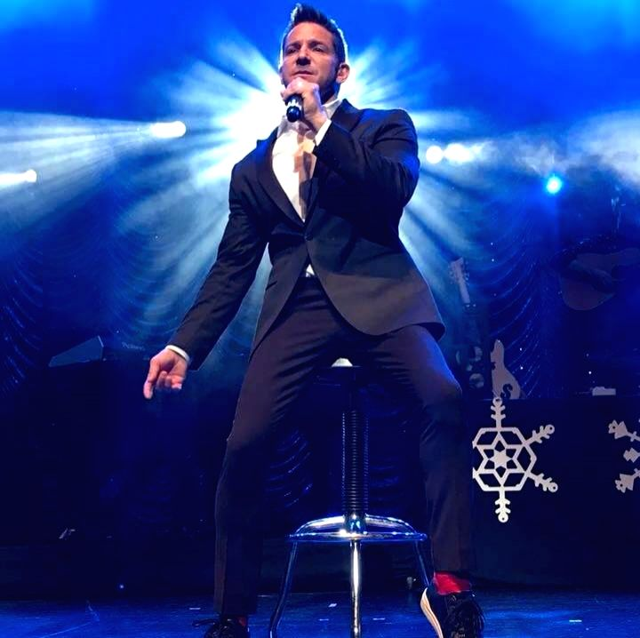 Singer Jeff Timmons of 98 Degrees