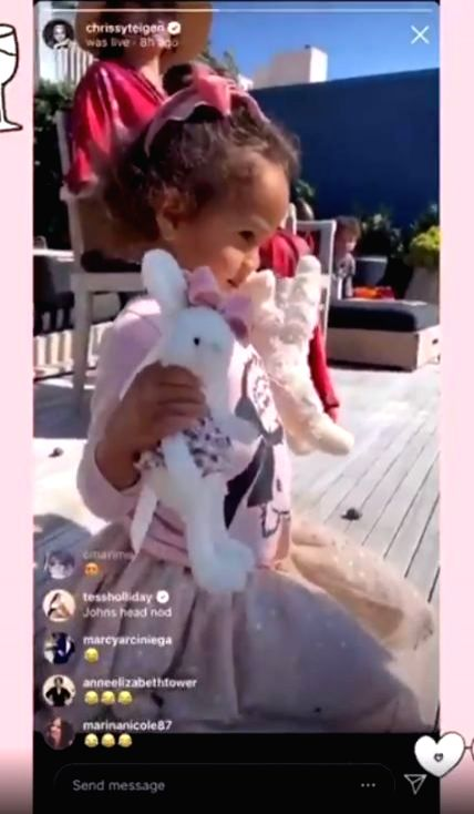 Singer John Legend along with his model wife Chrissy Teigen hosted an adorable wedding for daughter Luna's stuffed animals. On Saturday night, Teigen, 34, invited her Instagram followers to join the ...
