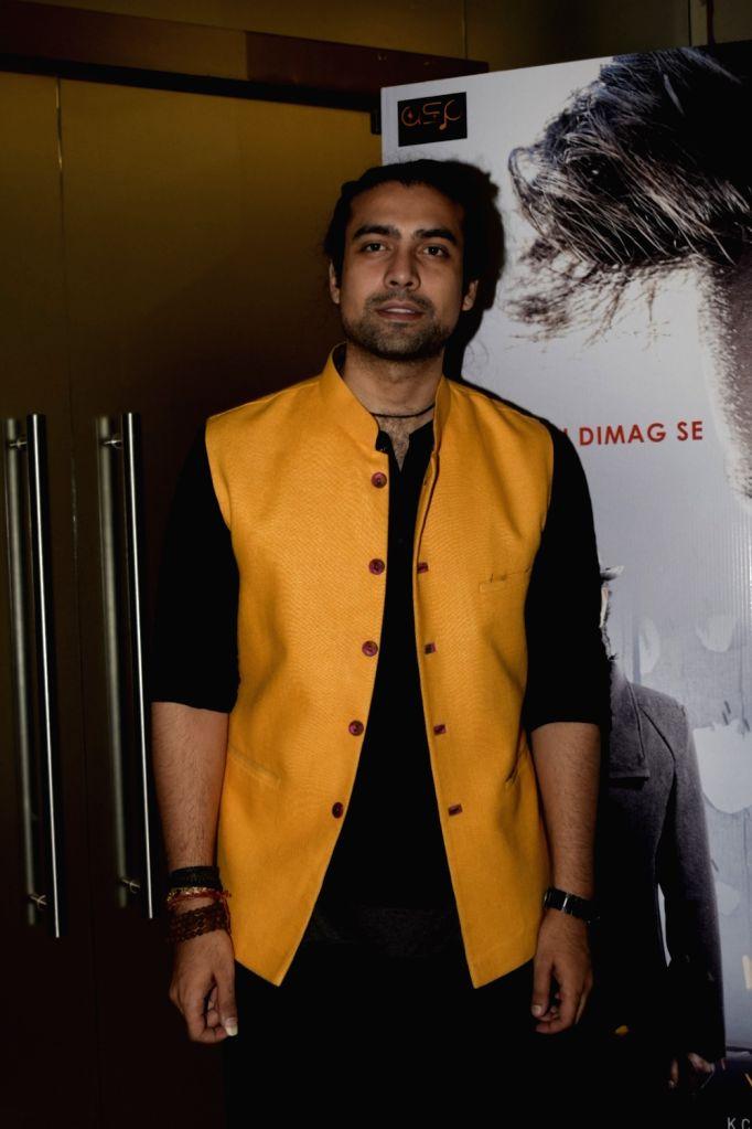 "Singer Jubin Nautiyal at the trailer launch of upcoming film ""Genius"" in Mumbai, on July 24, 2018."