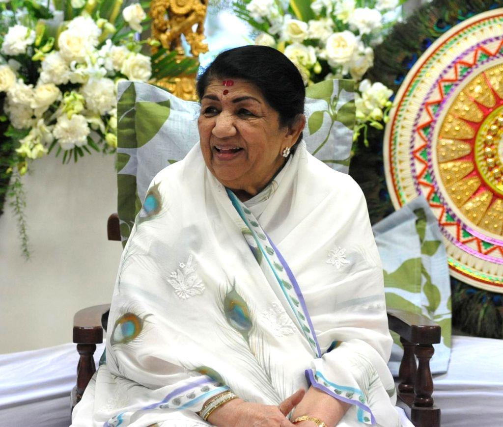 Singer Lata Mangeshkar. (File Photo: IANS)