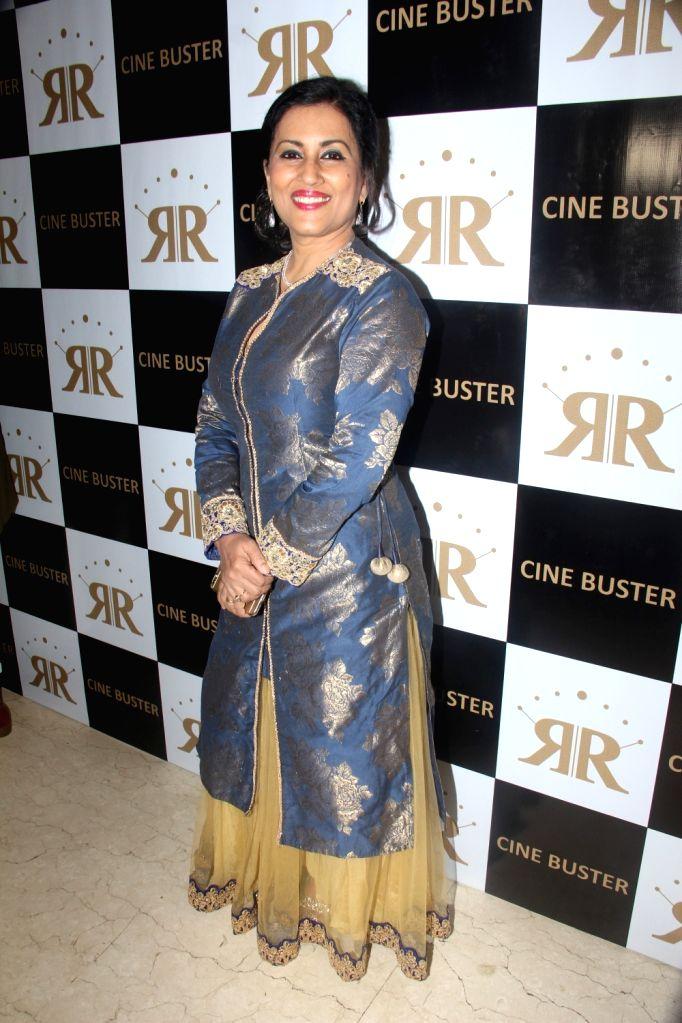 Singer Madhushree during the launch of Cine Buster Magazine in Mumbai on June 10, 2017.