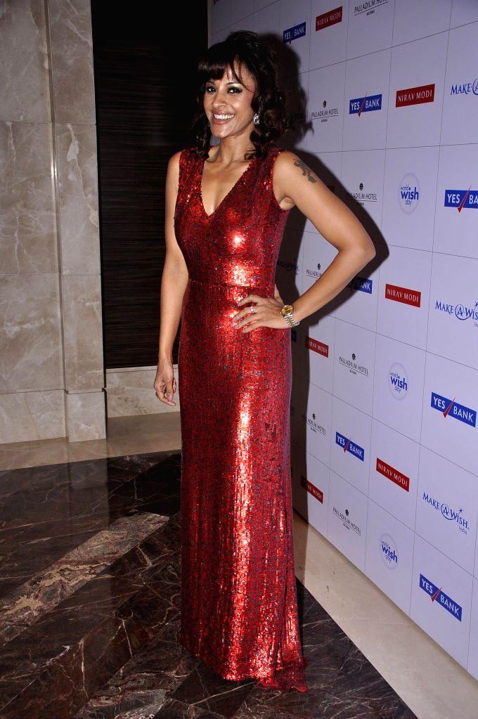 Singer Manasi Scott during Make a Wish Foundation event in Mumbai, India on April 26, 2014.