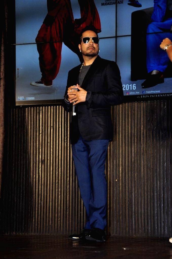 Singer Mika Singh during the music launch of film Happy Bhag Jayegi, in Mumbai on Aug 2, 2016. - Mika Singh