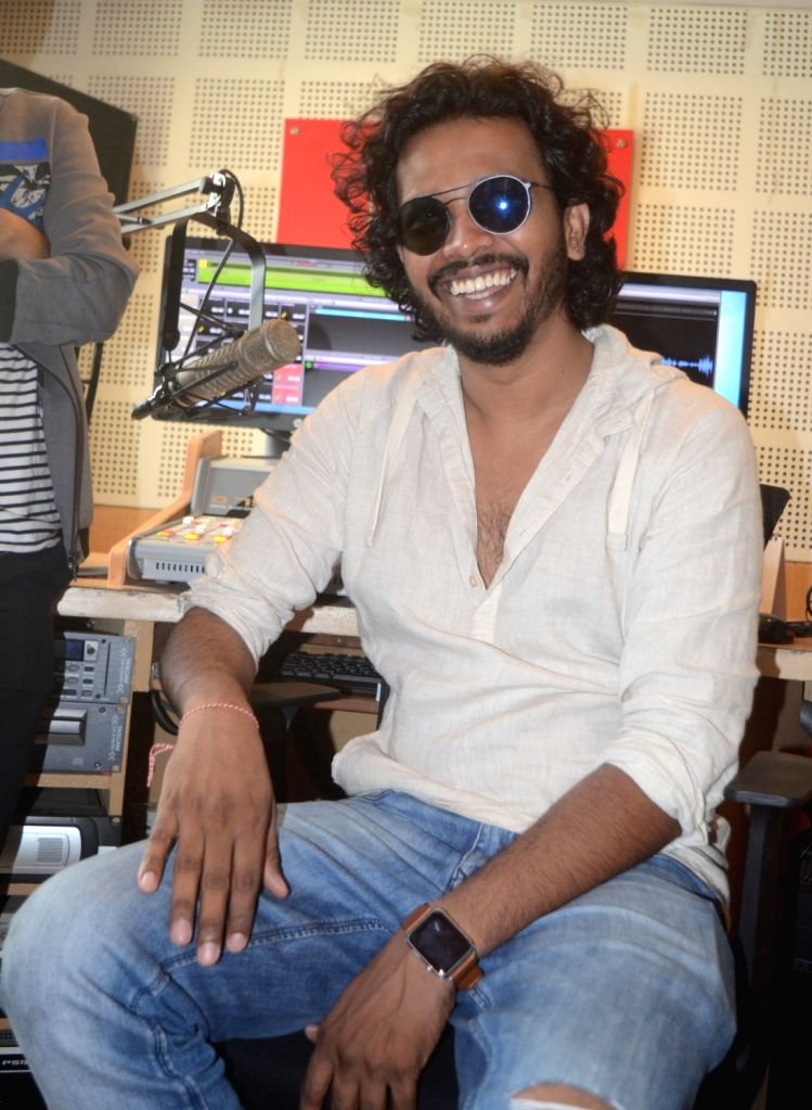 Singer Nakash Aziz during a programme in Bhopal on April 24, 2017.