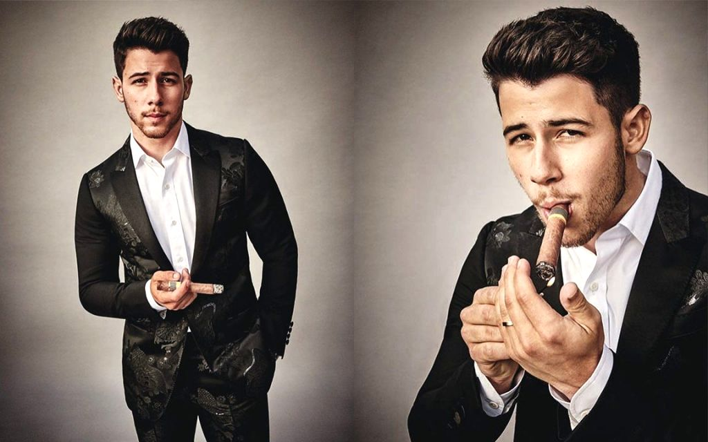 "Singer Nick Jonas is thrilled about being the first person under 30 to hold a cigar and feature on the cover of Cigar Aficionado magazine. Like most of his fans, his wife and actress Priyanka Chopra went on gushing about the ""yummy"" singer. - Priyanka Chopra"