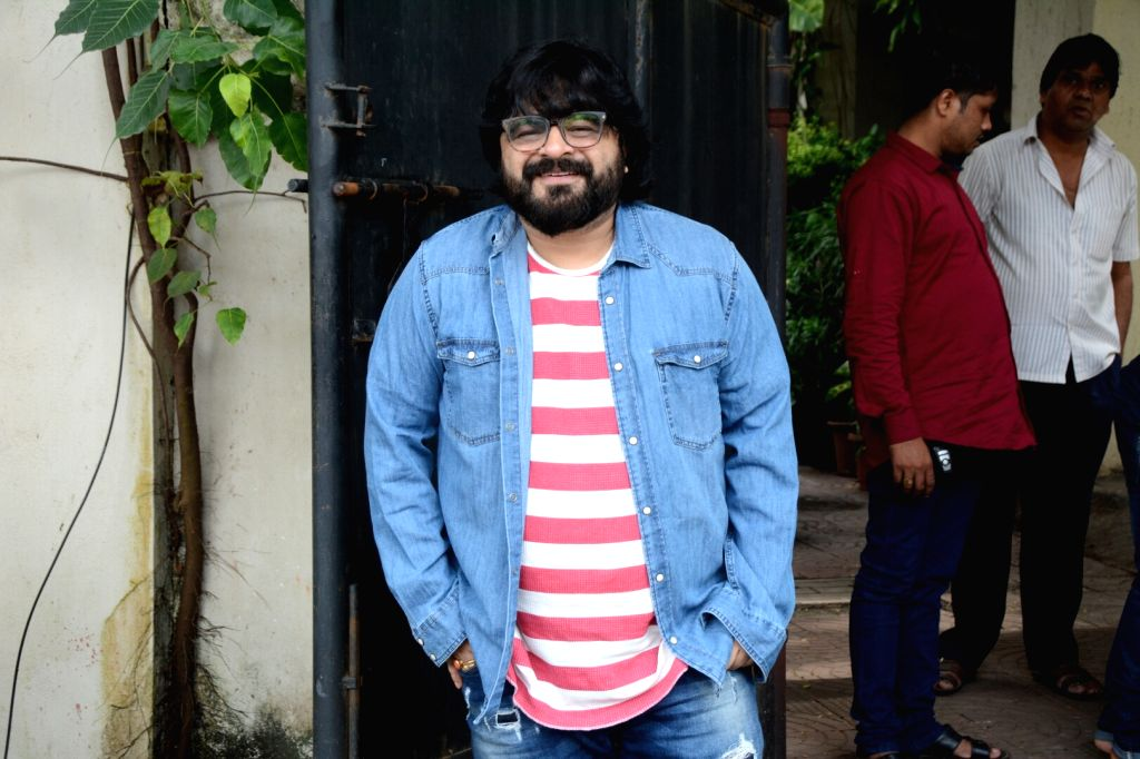 Singer Pritam Chakraborty seen at Mumbai's Juhu on July 29, 2018. - Pritam Chakraborty