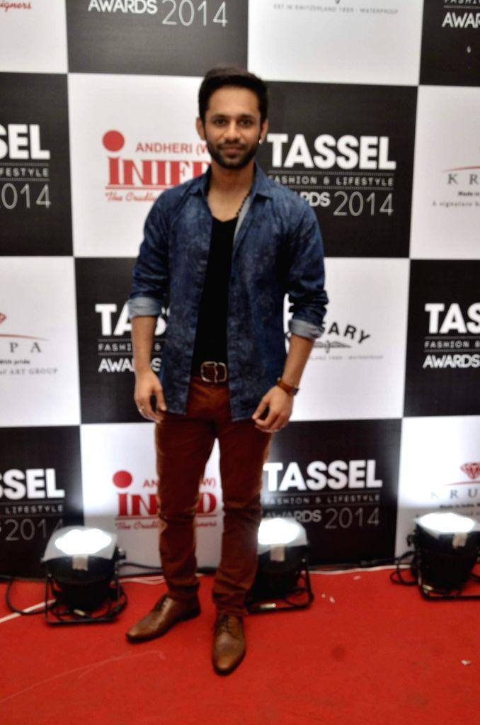 Singer Rahul Vaidya during INIFD Tassel Fashion & Lifestyle Awards 2014 in Mumbai on May 09, 2014. - Rahul Vaidya