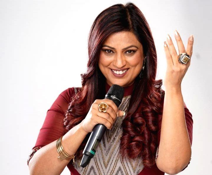 Singer Richa Sharma. - Richa Sharma
