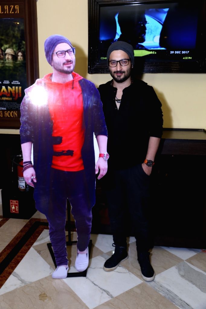 """Singer Rishabh Tandon during the promotion of his upcoming music track """"Faqeer Living Limitless"""" in New Delhi on Dec 5, 2017."""