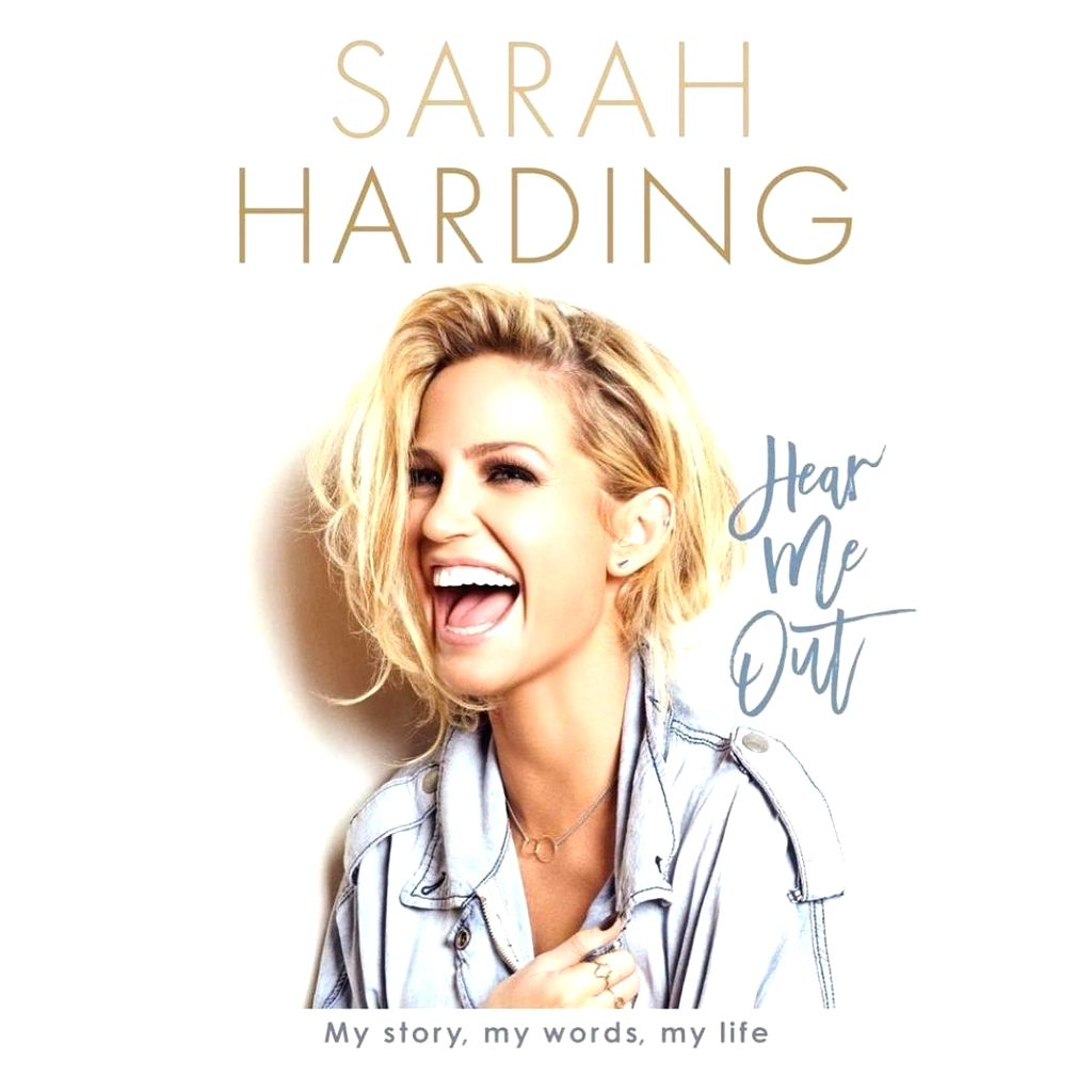 Singer Sarah Harding, who was a member of the now-defunct band Girls Aloud, posted on Monday to announce that her autobiography will be on stands in March.