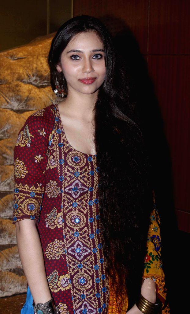 Singer Sasha Agha during a programme organised to launch the trailer of upcoming film `Desi Kattey` in Mumbai.