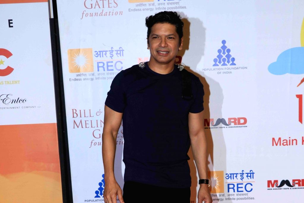 "Singer Shaan at ""Lalkaar- Main Kuch Bhi Kar Sakti Hoon"" concert organised by Farhan Akhtar in Mumbai on Feb 14, 2019. - Farhan Akhtar"