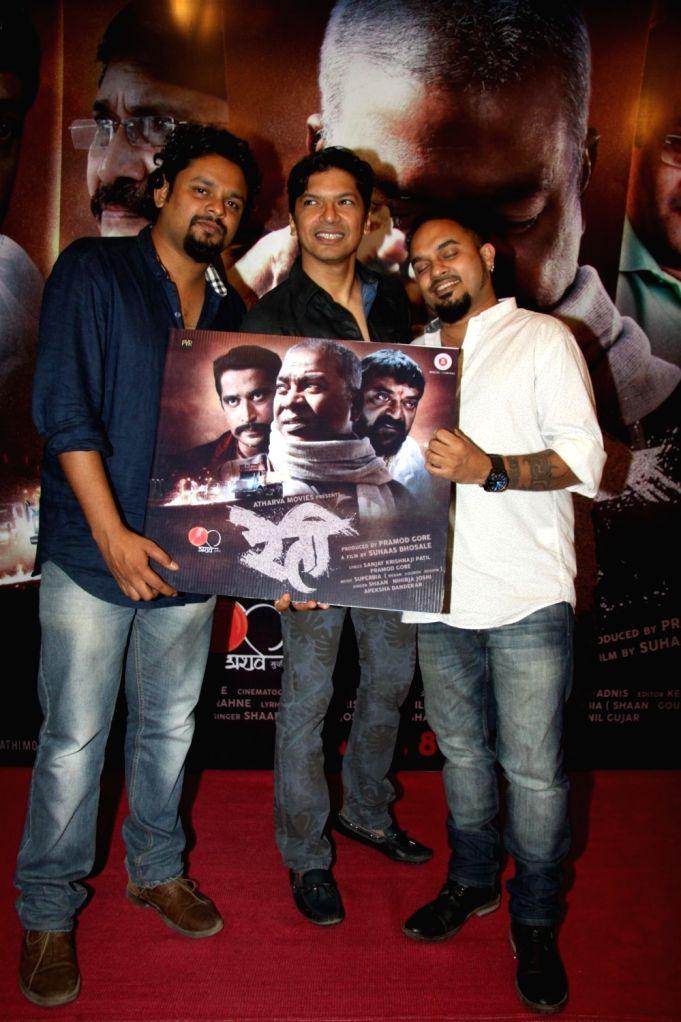 Singer Shaan at Marathi film Reti music launch in Mumbai, on March 17, 2016.
