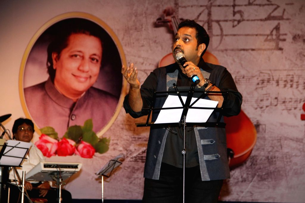 Singer Shankar Mahadevan at a function organized by Sath Sangat and Surel Creations in association with 9X Jhakaas. Eminent names from the music industry had come together to pay a rich musical ...