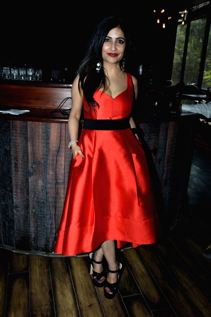 "Singer Shibani Kashyap at the launch of her latest single  ""Wanna be free"" in Mumbai on Jan 31, 2018. - Shibani Kashyap"