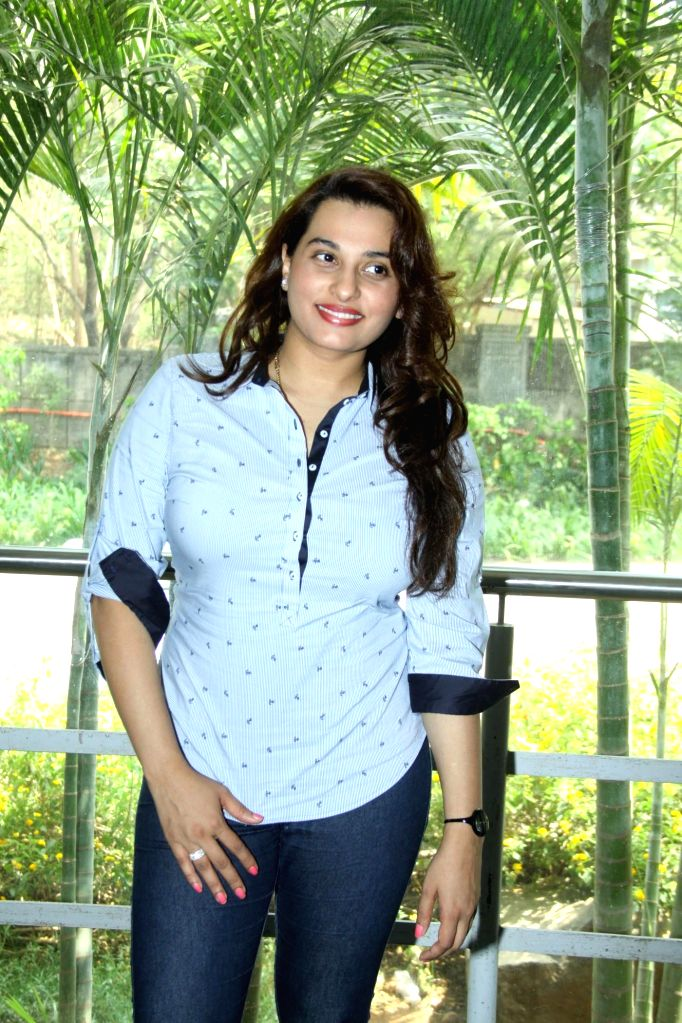 Singer Shraddha Pandit during the inauguration of `Celebrate Cinema` festival organised by Whistling Woods International in Mumbai on May 17, 2014.