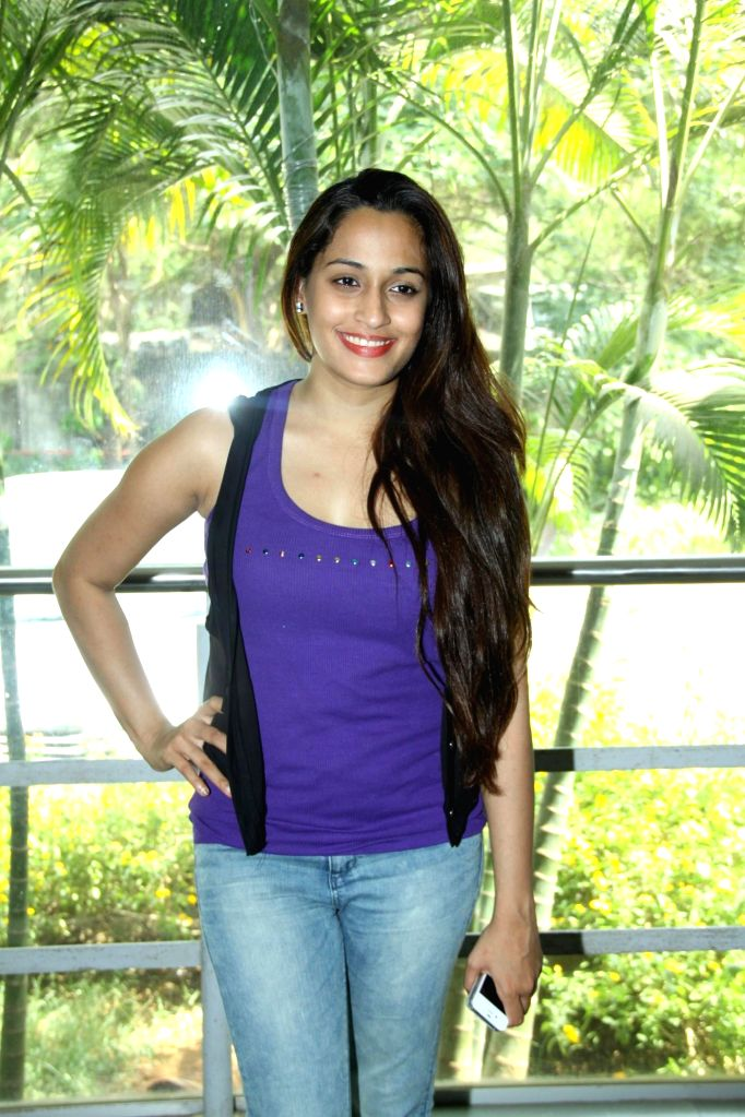 Singer Shweta Pandit during the inauguration of `Celebrate Cinema` festival organised by Whistling Woods International in Mumbai on May 17, 2014.