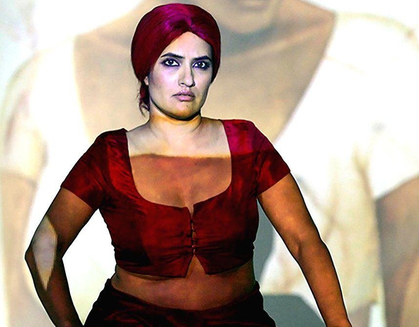 Singer Sona Mohapatra.