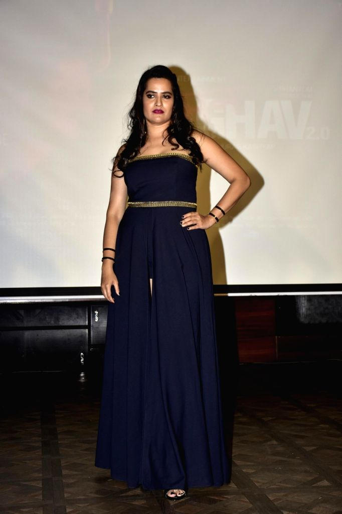 Singer Sona Mohapatra during launch of song, Qatl-e-Aam from film Raman Raghav 2.0, in Mumbai on June 03, 2016.