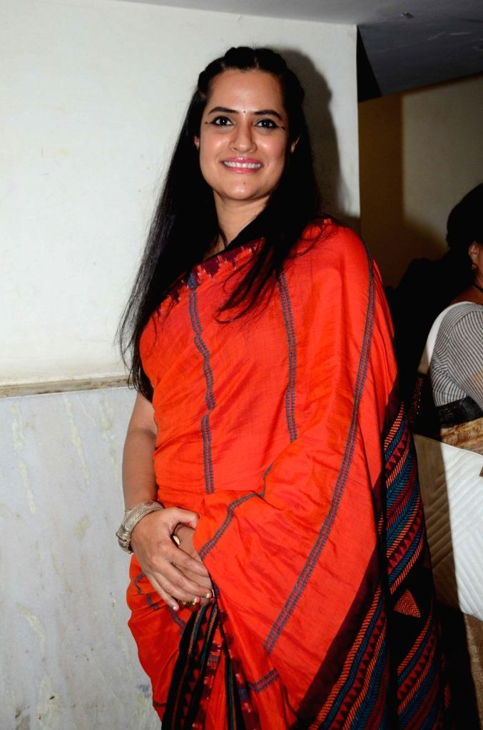 Singer Sona Mohapatra during The Satyamev Jayate Water Cup Awards 2016, in Mumbai, on Aug 15, 2016.