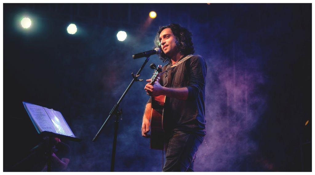 Singer-songwriter Nikhil Dsouza