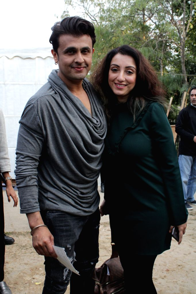 """Singer Sonu Nigam during """"HT Imagine Fest 2019: The World-Class Cultural Event for 'Attainable Art'"""" in New Delhi on Feb 23, 2019. - Sonu Nigam"""