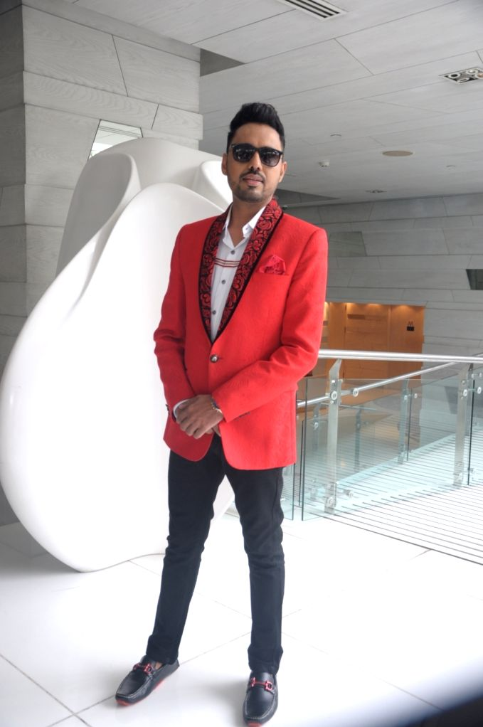 """Singer Sonu Thukral during the launch of his song """"Bhasoodi"""" in New Delhi on July 17, 2018."""