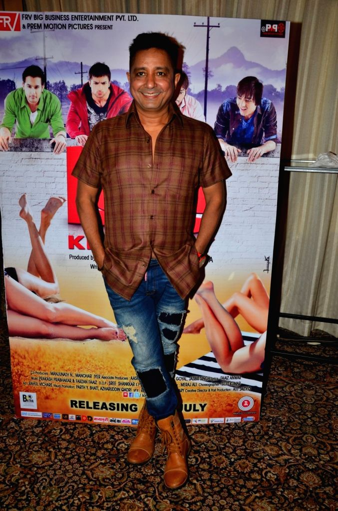Singer Sukhwinder Singh during the audio launch of film Love Ke Funday, in Mumbai on June 22, 2016. - Sukhwinder Singh