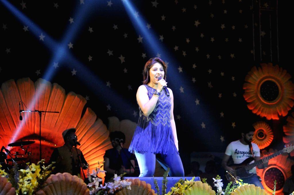 Singer Sunidhi Chauhan. (File Photo: IANS) - Sunidhi Chauhan
