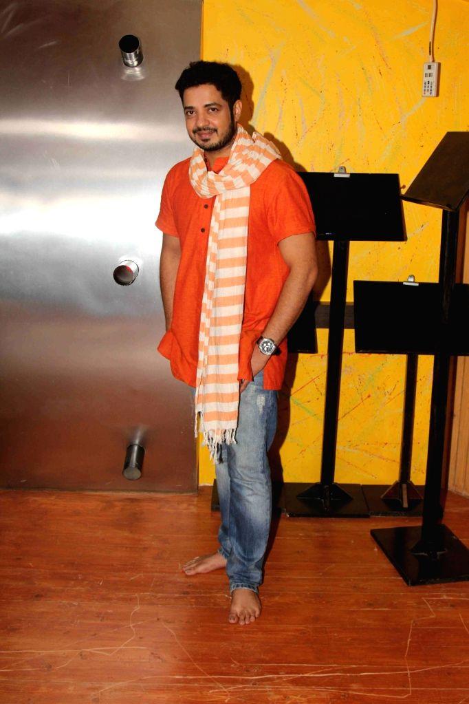 Mumbai: Song recording of Mangalmurthi Morya, a single audio