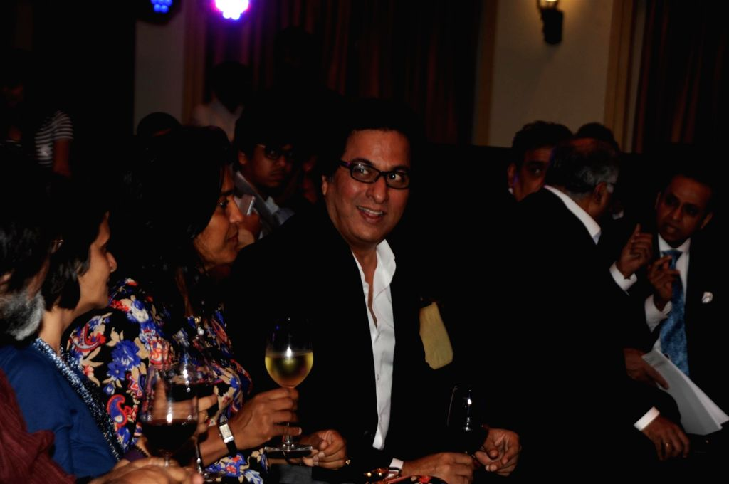 Singer Talat Aziz during the launch of ASSOCHAM coffee table book on media and entertainment in Mumbai on Nov 23, 2015.