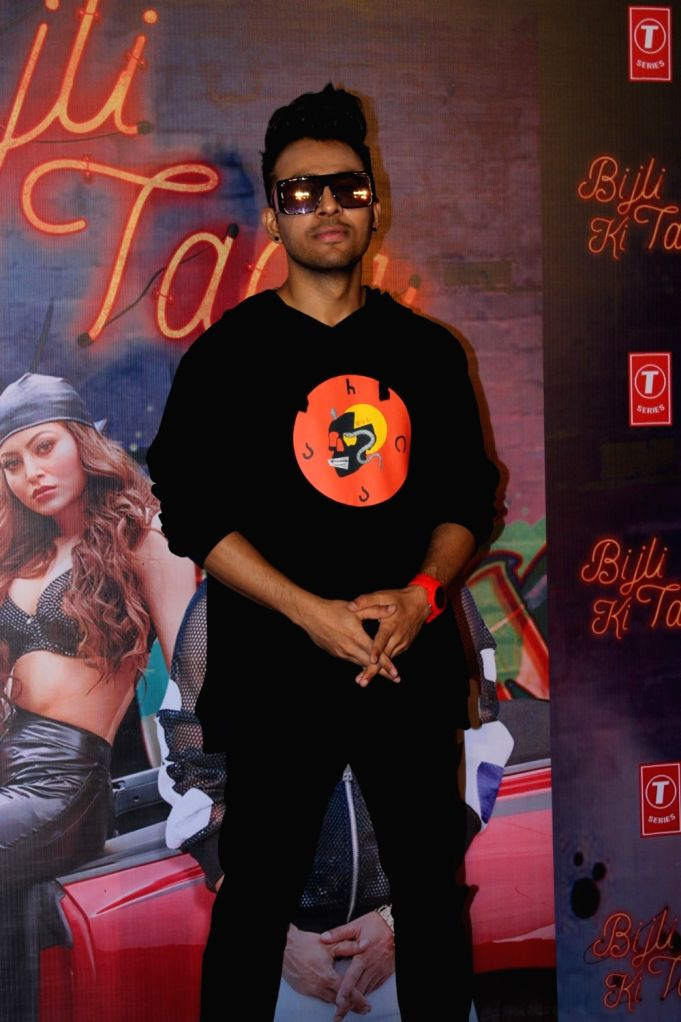 "Singer Tony Kakkar at the launch of his song ""Bijli Ki Taar"" in Mumbai on Sep 16, 2019."