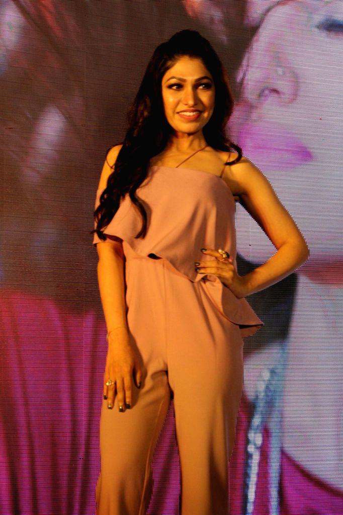 Singer Tulsi Kumar during the launch of song Gulabi 2.0 from film Noor in Mumbai, on March 22, 2017. - Tulsi Kumar