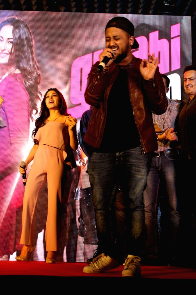 Singer Yash Narvekar during the launch of song Gulabi 2.0 from film Noor in Mumbai, on March 22, 2017.