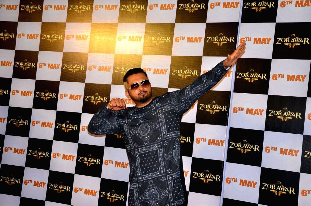 Singer Yo Yo Honey Singh. (Photo: IANS) - Singh