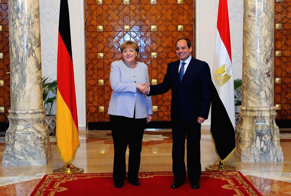 Sisi, Merkel discuss recent developments in Libya