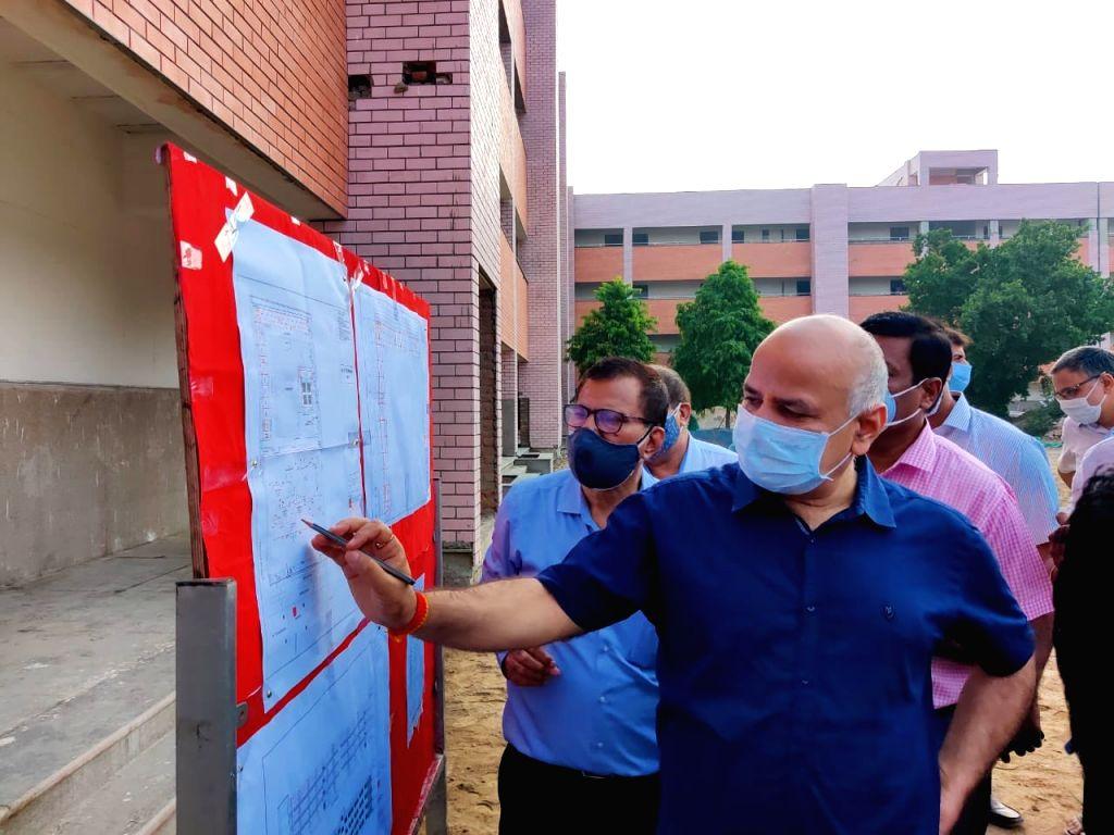 Sisodia inspects new classrooms in Delhi govt schools