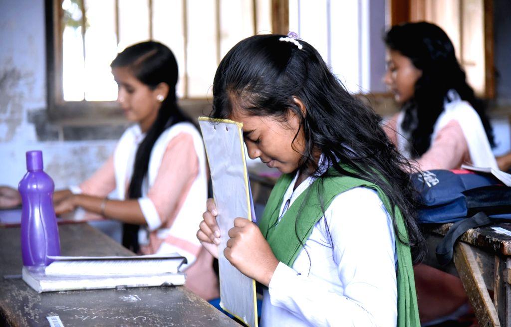 Six-fold increase in UP Board's examination fees. (Photo: Indrajit Roy/IANS) - Indrajit Roy