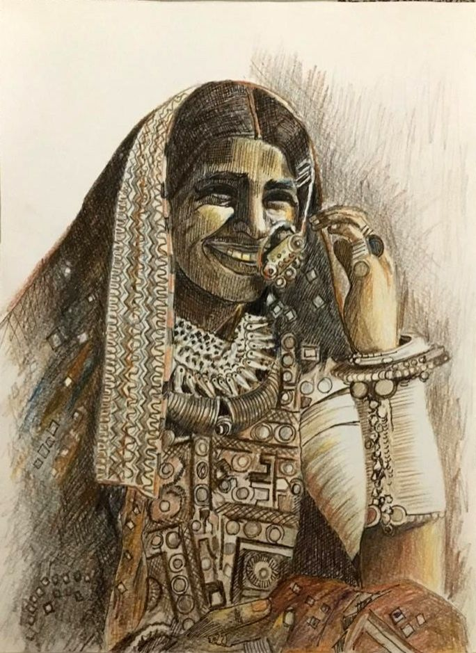 Smiling women from across India.(credit: IANSLIFE)