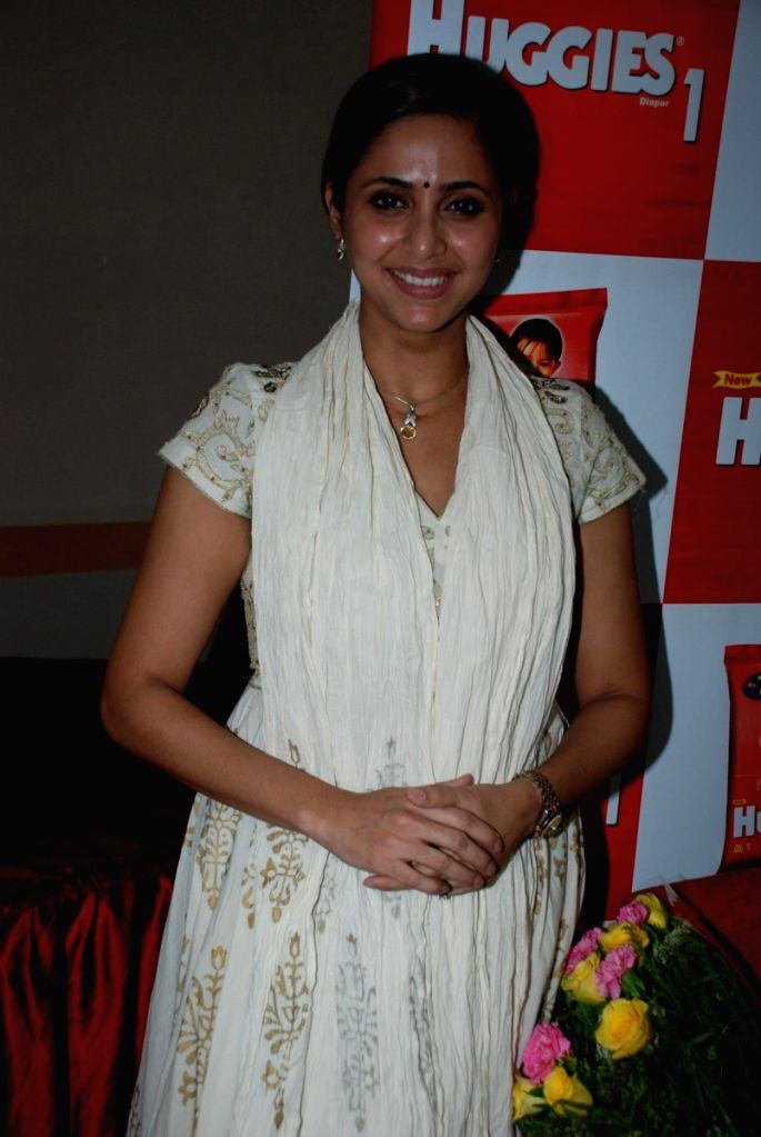 Smita Bansal at the Huggies event where king of racy fiction Jeffrey Archer also launched his book.
