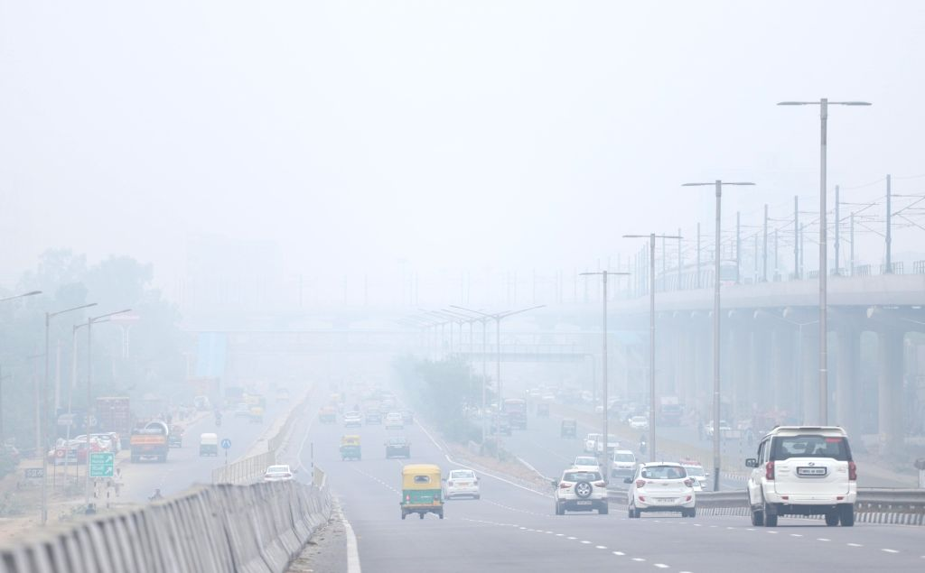 Smog engulfs the national capital as air quality worsens, on Nov 15, 2019. Delhi has earned the dubious distinction of becoming the most polluted major city in the world with an air ...