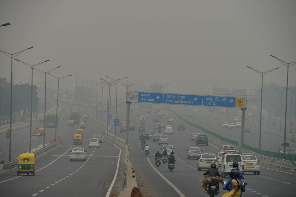 Smog engulfs the national capital, on Oct 30, 2019.